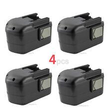 (4) NEW 14.4V 1.5AH NI-CD Battery for MILWAUKEE 48-11-1024 LokTor S 14.4 TX