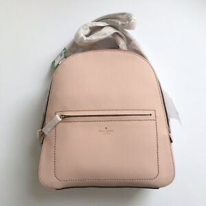 Kate Spade Layden Street Izzy Leather Backpack Warm Vellum Pink NWT
