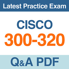 Designing Cisco Network Service Architectures 300-320 Exam Q&A PDF