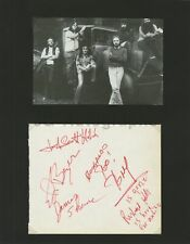 Canned Heat - Blues Band - Signed by Richard Hite and 4 Others