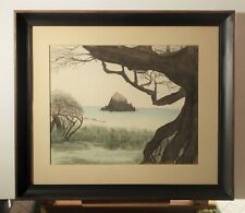 LUCINDA WARREN MID-CENTURY ORIGINAL WATERCOLOR