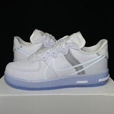 Nike Air Force 1 React White Ice / Light Bone QS Size 9.5 (CQ8879-100) - IN HAND