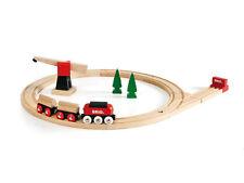 BRIO 33010 Holzspielzeug Eisenbahn Fracht Set-classic Line 18 teile