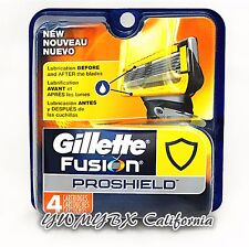 Gillette Fusion PROSHIELD Refill Blades 4 Cartridges,*Original Package* #006