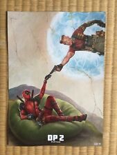 Ryan Reynolds DEADPOOL 2 JAPAN MINT CONDITION MOVIE THEATRE FLYER JAPANESE