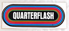 Quarterflash 80's Klos Rainbow Bumper Sticker Los Angeles Radio