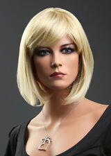Forever Young Ladies Short Straight BOB STYLE Light Blonde Blend Full Wig!