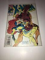X-MEN #28 January 1993 Marvel Comics: Jean Grey & Sabertooth