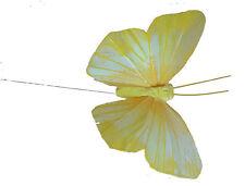 Schmetterling Dekofiguren am Draht 12 Stück !
