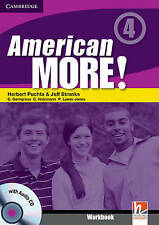 American More! Level 4 Workbook with Audio CD, Lewis-Jones, Peter, Holzmann, Chr