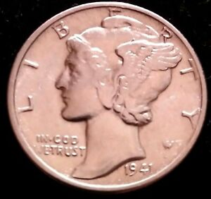 1941 P Mercury Dime ***Silver*** BU/UNC/MS/ GEM/CHOICE