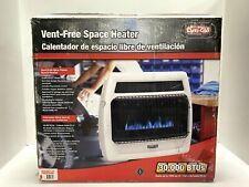 Dyna-Glo Wall Heater 30,000 BTU Blue Flame Vent Free Liquid Propane Thermostatic