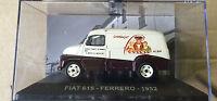 """DIE CAST """" FIAT 615 FERRERO 1952"""" VEICOLI PUBBLICITARI 1/43"""
