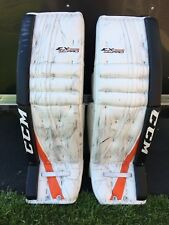 "CCM Extreme Flex Pro Return Goalie Leg Pads 36"" + 2"" Philadelphia Flyers"