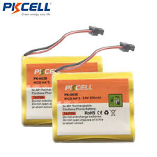2 x Home Phone Rechargeable Battery HHRP505 for Uniden BT-800 BP905 BT-905