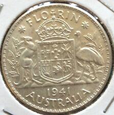 1941 Australian florin - unc