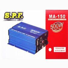 AMPLIFICATORE AUDIO MP3 12V CASA AUTO MOTO  2 CANALI STEREO 500W RCA USB 5V