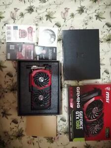MSI NVIDIA GeForce GTX 1080 8GB Gaming X8G GPU Overclocked Edition Graphics Card