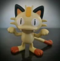 "Meowth Pokemon Figure Yellow Scratch Cat McDonald's Toy 2016 3.25"" Very Rare"