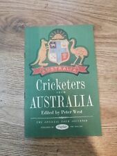 1953 Cricketers from Australia Tour Souvenir