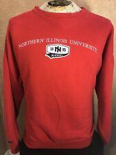 NIU HUSKIES Northern Illinois University Alumni Crewneck Sweatshirt 2XL XXL Red