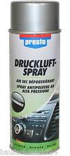 Presto Druckluftspray 400 ml Druckluft Spray Reinigungsspray