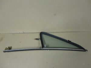 75-95 Chevy Full Size Van G10 G20 Driver Side Swing Out Vent Window Chrome