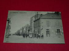 CPA CARTE POSTALE 1915 03 ALLIER COMMENTRY ROUTE DE NERIS