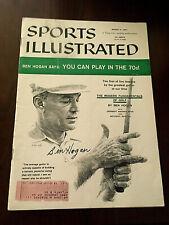 BEN HOGAN VERY RARE 3/11/57 SIGNED SPORTS ILLUSTRATED JSA COA PGA MASTERS TIGER