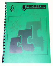 Promecam 25-12B, Hydraulic Press Brake, Operations Maintenance and parts Manual