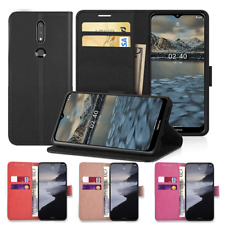 Nokia 1.4,2.4,5.4, Mobile Phone Leather Wallet Case Cover Flip Pouch Card Holder