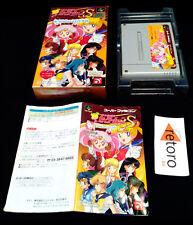 SAILOR MOON S Bishoujo Senshi Super Famicom Nintendo SNES SAILORMOON Jap