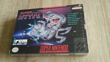 R-Type SNES Super Nintendo sealed