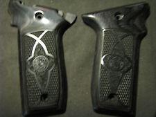 Smith Wesson .22LR VICTORY Chkrd/Stippled Blackwood Pistol Grips w/S&W Logo NEW!