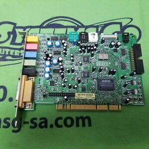 Dell 038FRH Turtle Beach Santa Cruz TB400-2541-02 PCI Sound Card 38FRH