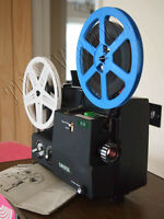 Cinerex 818 Dual SUPER 8 8MM VARIABLE SPEED CINE PROJECTOR Fully serviced Chinon