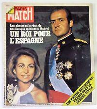 París Match Nº 1383 - 29 noviembre 1975 - juan carlos españa sophie de grecia