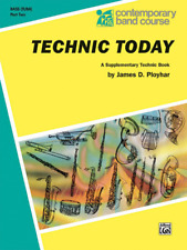 """Contemporary Band Course-Technic Today """"Tuba"""" Music Book 2-Brand New On Sale!"""