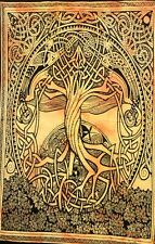 Tapestry Celtic Tree Wall Hanging Hippie Throw Home Decorative Small Poster Boho