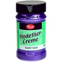 Viva Decor Modeling Creme 90g-Violet, VD1170-50840