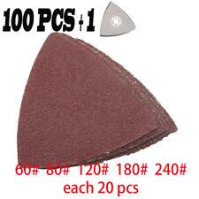 101 Pcs Universal Sanding paper  sandpaper Sand Sheet fit for Oscillating Tool