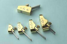 5 pcs different sizes Mini Brass planes, Violin/Cello making tools