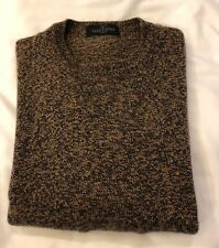 VALENTINO JEANS ITALY MENS WOOL CREW NECK SWEATER SIZE M