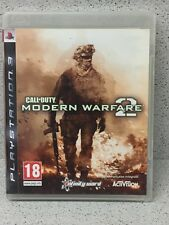 JEUX PS3 CALL OF DUTY MODERN WARFARE 2  AVEC NOTICE PLAYSTATION