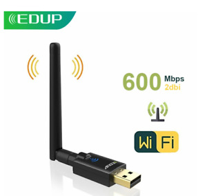 EDUP 600Mbps USB WiFi Adapter 2.4G/5Ghz 802.11AC Dual band WiFi  with Antenna