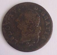 M105: Sol À L'écu Gratia 1786 Monnaie Louis XVI Voir Photos