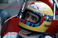 Nanni Galli Williams Iso-Marlboro IR F1 Portrait 1973 Photograph 2