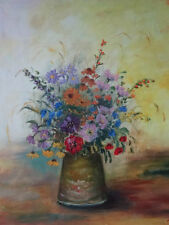 Oil Original Floral Art Paintings