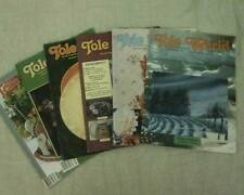 Tole World Magazine 6 Issues 1988 Tole Decorative Painting Instructions Patterns