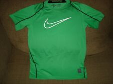 NIKE Dri-Fit Pro Cool HBR Fitted BOY'S Tennis Top Shirt 726463-342, BOY'S Large